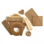 Flat Tag AssortmentAntique Gold