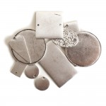 Flat Tag AssortmentAntique Silver