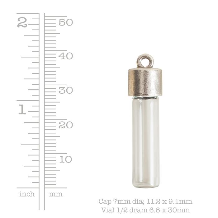 Itsy Bottle & Top PlainAntique Copper