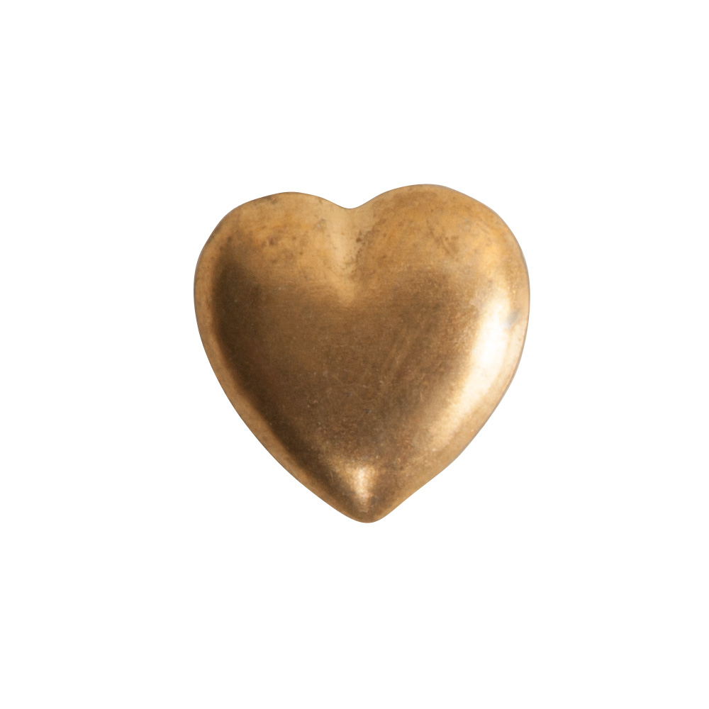 Brass Stamping Mini HeartBrass