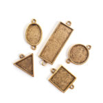Buy & Try Findings Mini Links Double LoopAntique Gold