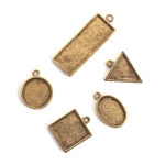 Buy & Try Findings Mini Links Single LoopAntique Gold