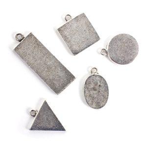 Buy & Try Findings Mini Links Single LoopAntique Silver