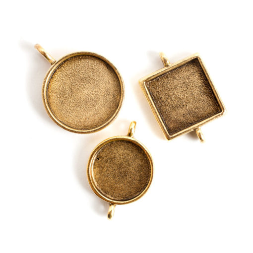 Buy & Try Findings Classic BezelsAnique Gold