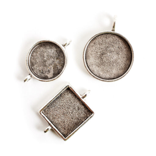 Buy & Try Findings Classic BezelsAnique Silver