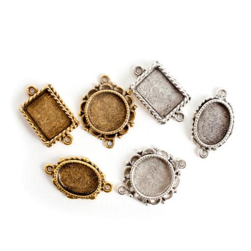 Buy & Try Findings Ornate Mini Pendant Dbl-Combo