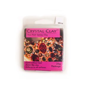 Crystal Clay White 25grams