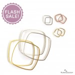 Ring Square & Bangle Bracelet Square