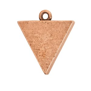 Small Pendant TriangleAntique Copper