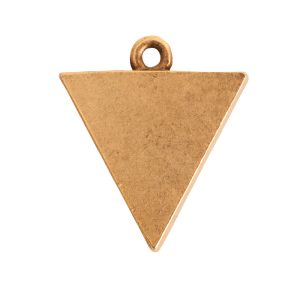Small Pendant TriangleAntique Gold