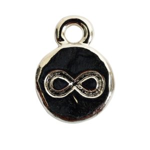 Charm Itsy Spiritual infinitiSterling Silver Plate