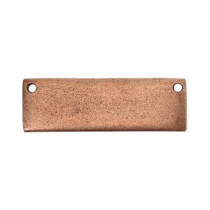 Flat Tag Grande Thin Horizontal<br>Antique Copper