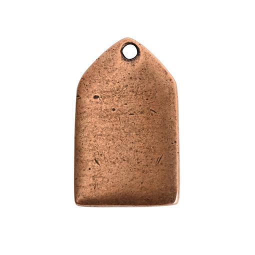 Flat Tag Mini Tablet Antique Copper