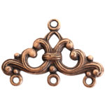 Strand Reducer Filigree 3 Loop-Copper