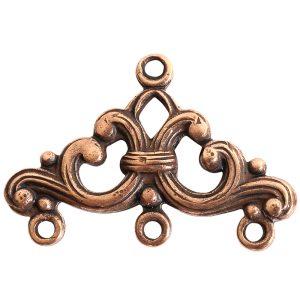 Strand Reducer Filigree 3 Loop-Copper