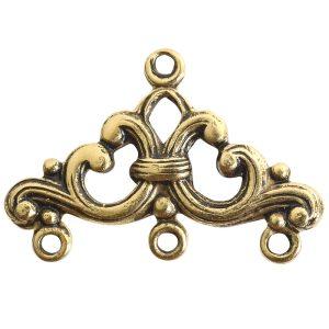 Strand Reducer Filigree 3 Loop-Gold