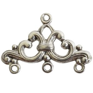 Strand Reducer Filigree 3 Loop-Antique Silver