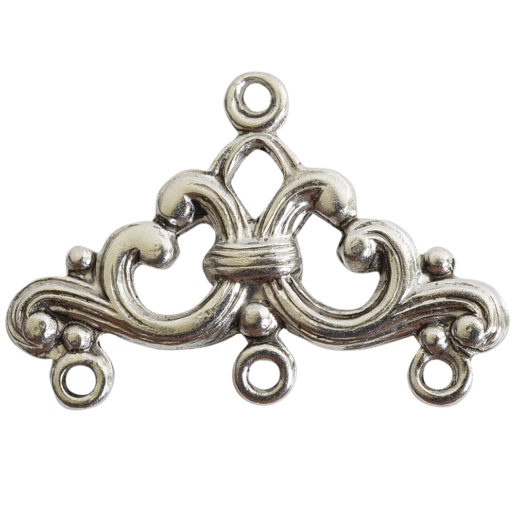 Strand Reducer Filigree 3 Loop-Antique Silver 1