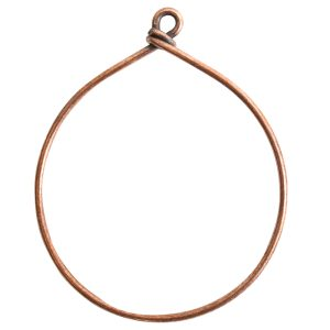 Wire Frame Large HoopAntique Copper