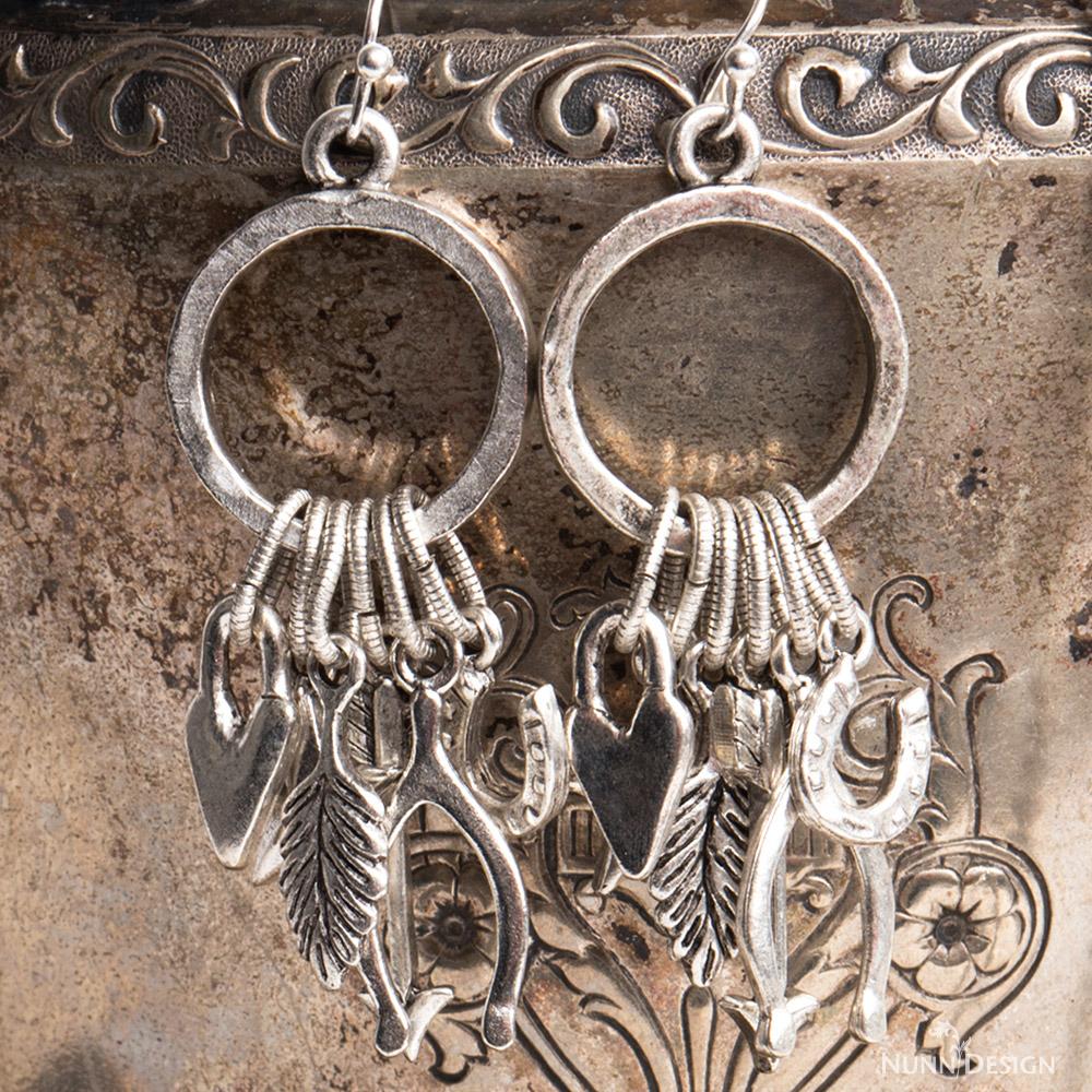 Lucky charm earring tutorial nunn design buycottarizona Image collections