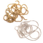 Buy & Try Findings Faceted Bead Chain-Combo