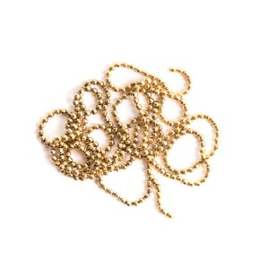 Buy & Try Findings Faceted Bead Chain-Gld