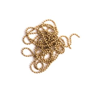 Buy & Try Findings Faceted Bead Chain Fine-Gld