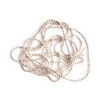 Buy & Try Findings Faceted Bead Chain Fine-Slv