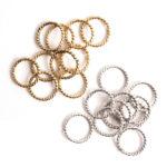 Buy & Try Findings Jump Ring Grande Rope-Combo