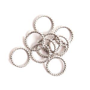 Buy & Try Findings Jump Ring Grande Rope-Slv