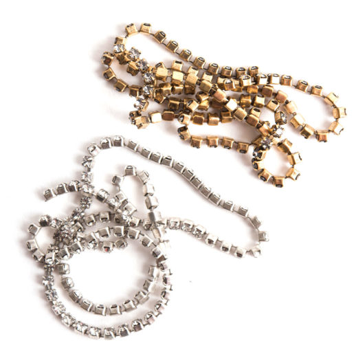 Buy & Try Findings Rhinestone Chain 14pp-Combo 1