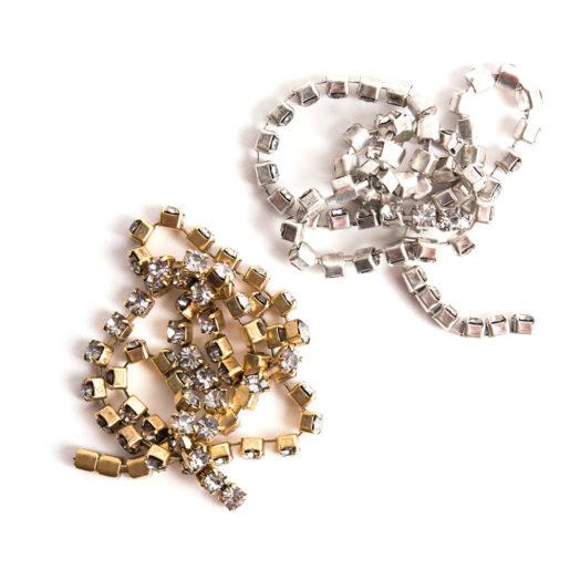 Buy & Try Findings Rhinestone Chain 24pp-Combo 1