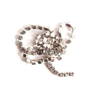 Buy & Try Findings Rhinestone Chain 24pp-Slv