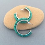 Turquoise Channel Earrings