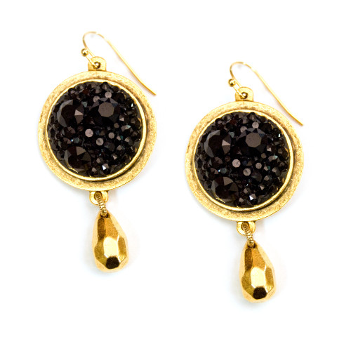 black-chaton-gold-earrings
