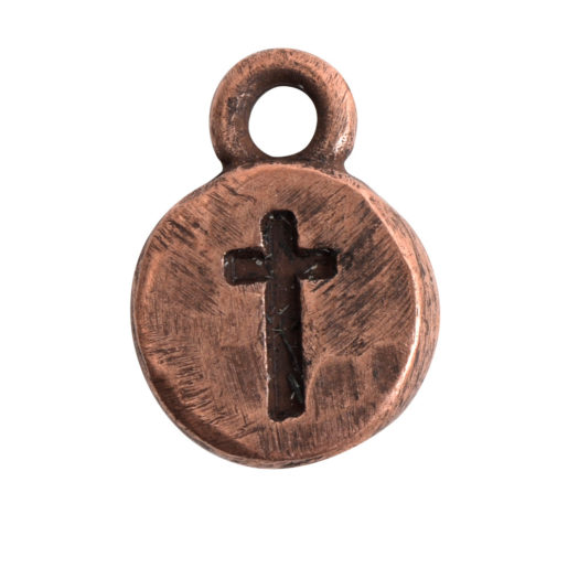 Charm Itsy Spiritual Cross<br>Antique Copper 1