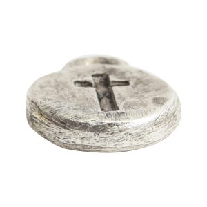 Charm Itsy Spiritual CrossAntique Silver