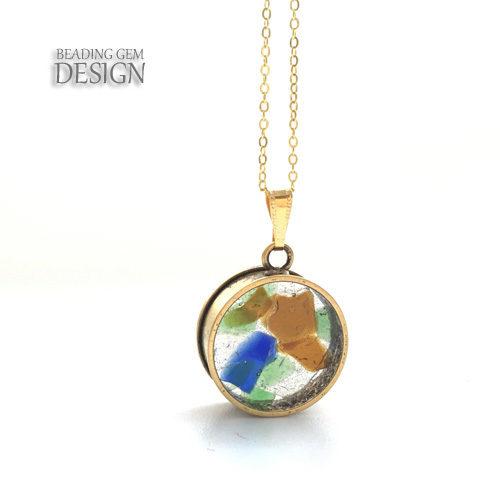 sea+glass+pendant+LOGO