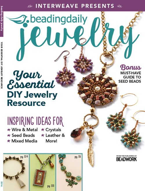 Beading Daily Jewelry Magazine Just Arrived And Is Filled With Great Inspiration Several Of The Nunn Design Innovation Team Has Pieces Featured In