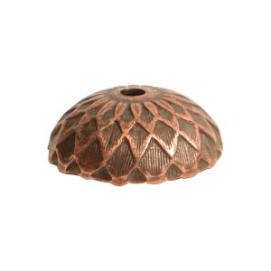 Beadcap 11.5mm AcornAntique Copper