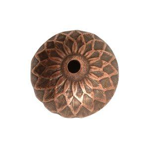 Beadcap 11.5mm Acorn<br>Antique Copper