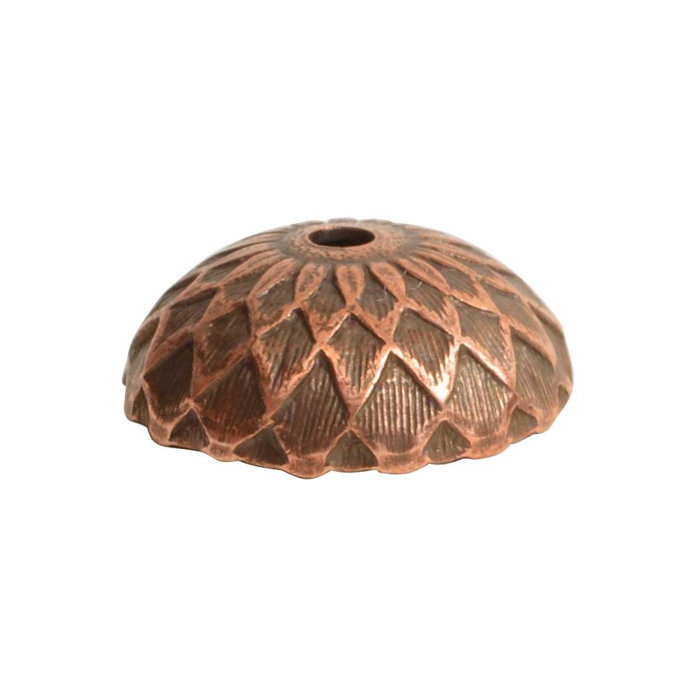 Beadcap 11.5mm AcornAntique Copper