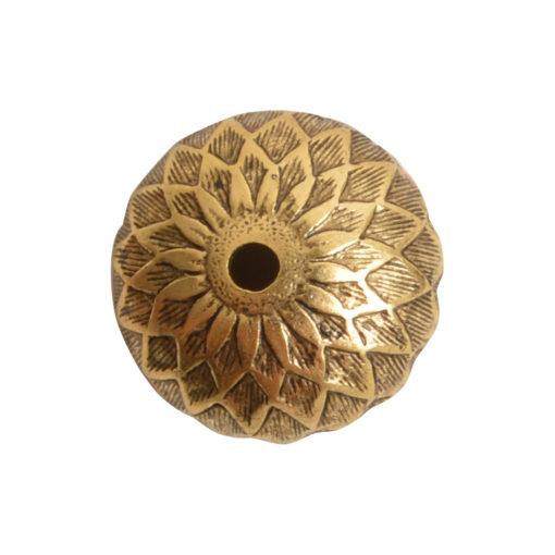 Beadcap 11.5mm AcornAntique Gold