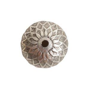 Beadcap 11.5mm AcornAntique Silver