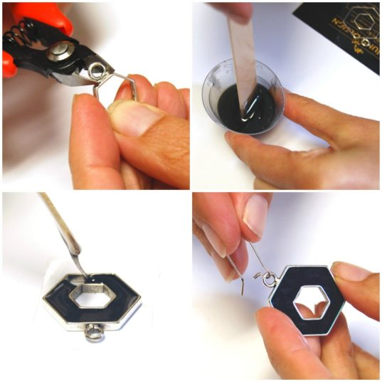 hexagon-earrings-collage