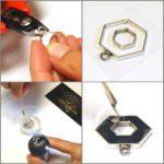 hexagon-resin-earrings-collage