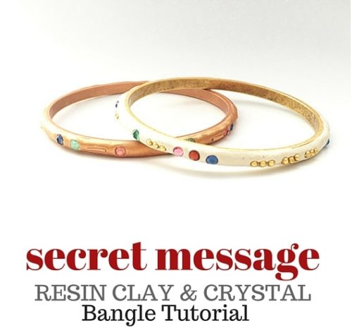 SECRET+MESSAGE+resin+clay+bangle+tutorial