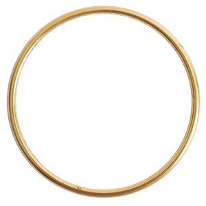 Open Frame Hoop GrandeAntique Gold