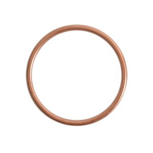 Open Frame Hoop LargeAntique Copper