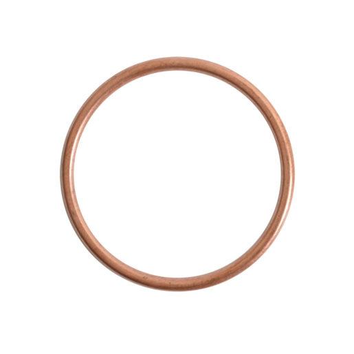 Open Frame Hoop Large<br>Antique Copper 1